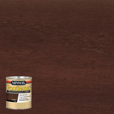 8 oz. PolyShades Honey Satin Stain and Polyurethane in 1-Step (4-Pack)