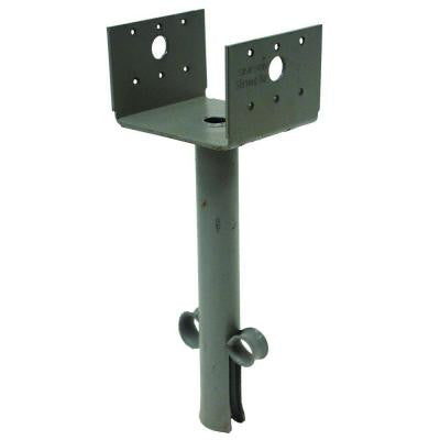 4 in. x 4 in. 12-Gauge Elevated Post Base