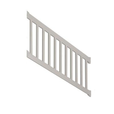 Walton 3 ft. x 96 in. Vinyl Tan Stair Railing Kit