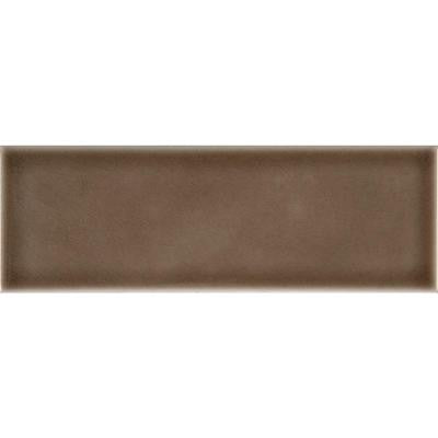 Artisan Taupe 4 in. x 12 in. Glazed Ceramic Wall Tile (5 sq. ft. / case)