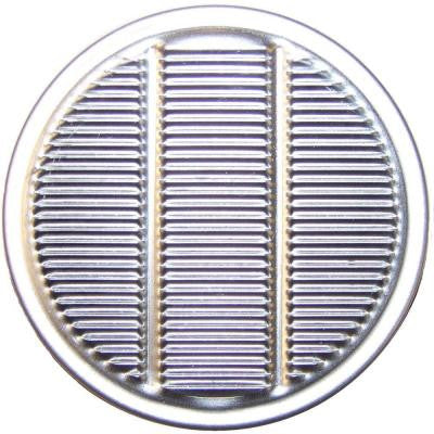 2 in. Aluminum Vulcan Round Louvered Eave Vent