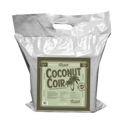 11 lb. Coconut Coir Block Soilless Grow Media (70 - 11 lbs brick pallet)