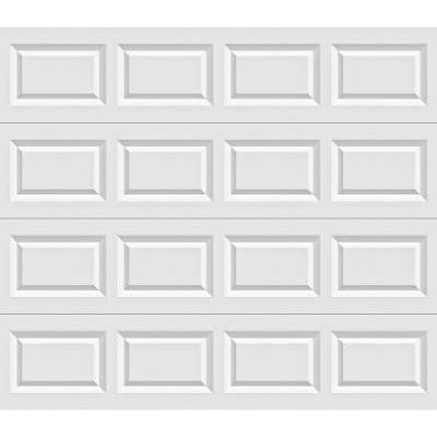 Value Plus Series 9 ft. x 7 ft. 6.3 R-Value Insulated White Garage Door