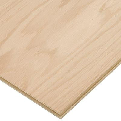 3/4 in. x 2 ft. x 4 ft. PureBond Red Oak Plywood Project Panel