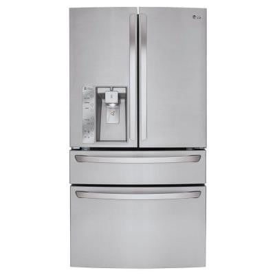29.9 cu. ft. French Door Refrigerator in Stainless Steel with CustomChill Drawer
