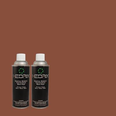 11 oz. Match of 170F-7 Leather Bound Low Lustre Custom Spray Paint (2-Pack)