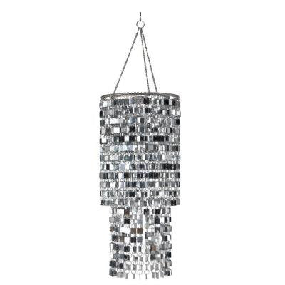 6th Icicles Silver Chandelier