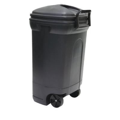 45 Gal. Plastic Wheeled Outdoor Trash Can