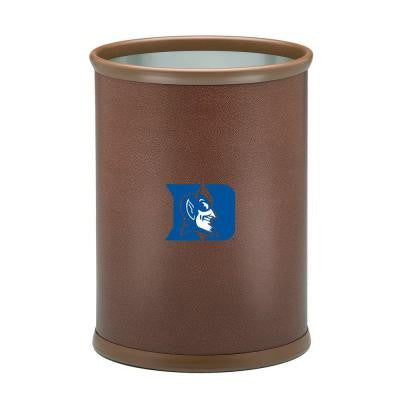 13 in. Duke Football Texture Trash Can