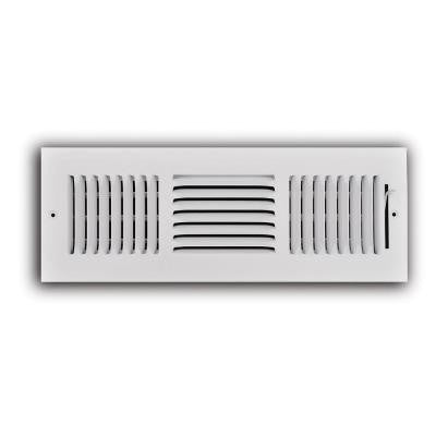 14 in. x 4 in. 3-Way Wall/Ceiling Register
