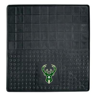 Milwaukee Bucks Heavy Duty Vinyl 31 in. x 31 in. Cargo Mat