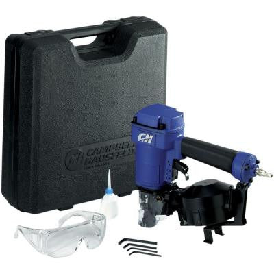 Coiled Roofing Nailer Kit with Carrying Case