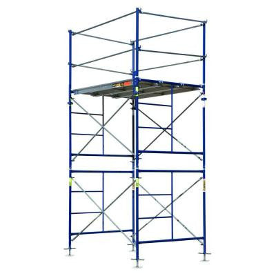 Saferstack 10 ft. x 5 ft. x 7 ft. 2-Story Fixed Scaffold Tower