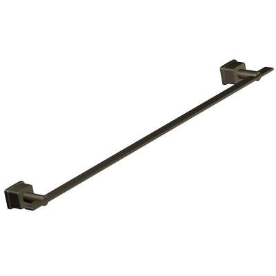 24 in. Single Towel Bar in Oil Rubbed Bronze