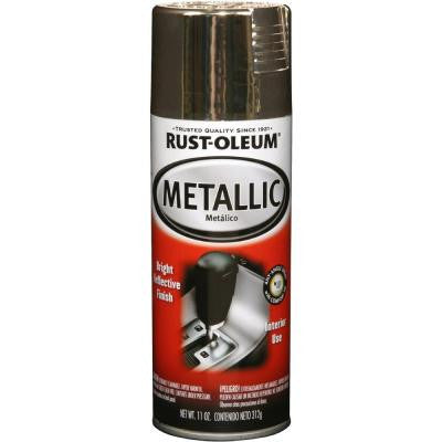 11 oz. Metallic Gold Spray Paint (Case of 6)