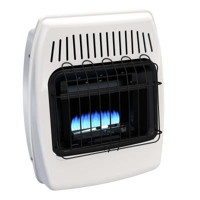 10,000 BTU Blue Flame Vent Free Natural Gas Wall Heater