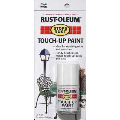 0.45 oz. Gloss White Touch-Up Paint (6-Pack)