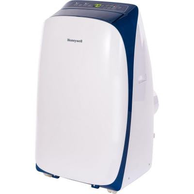 HL Series 14,000 BTU Portable Air Conditioner with Remote Control - White/Blue