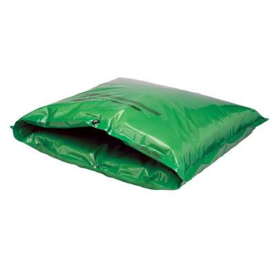 24 in. W x 24 in. H Small Fiberglass Encapsulated Green Plastic Insulation Pouch