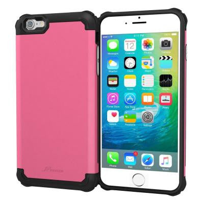Exec Tough Pro Hybrid Co-mold Case for Apple iPhone 6S - Pink