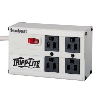 Isobar 4 - 6 ft. Cord with 4-Outlet Strip