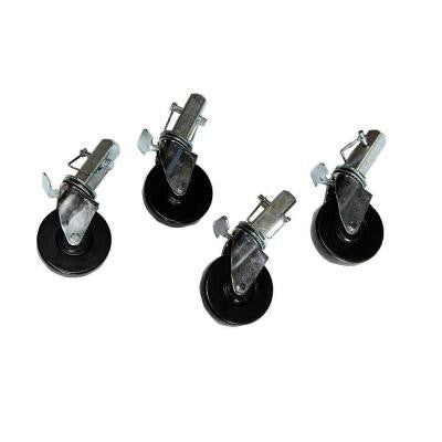 5 in. Multifunction Scaffold Tower Casters (4-Pack)