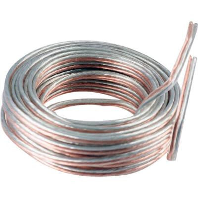 UltraPro 50 ft. 14 Gauge Speaker Wire - Silver and Copper