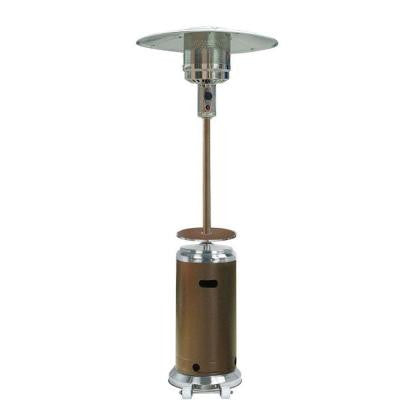 41,000 BTU Stainless Steel/Hammered Bronze Gas Patio Heater
