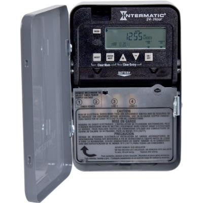 30 Amp 24-Hour SPST 1-Circuit Electronic Time Switch