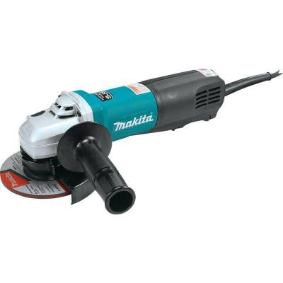 13-Amp 5 in. Corded Super Joint System High-Power Paddle Switch Angle Grinder