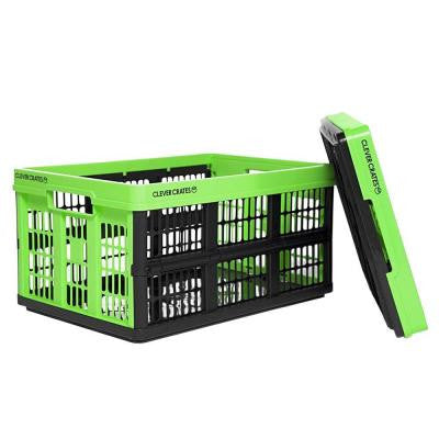 47.5 qt. Collapsible Utility Box in Kiwi Green