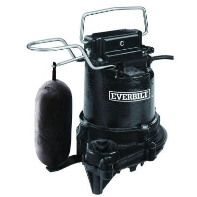 0.3 HP Cast Iron Sump Pump