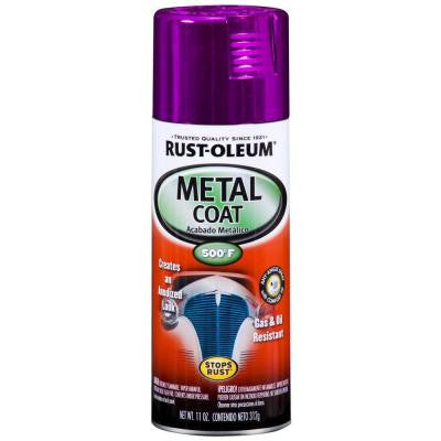 11 oz. Metal Coat Purple Spray (Case of 6)