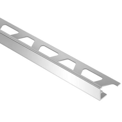 Schiene Aluminum 9/32 in. x 8 ft. 2-1/2 in. Metal L-Angle Tile Edging Trim