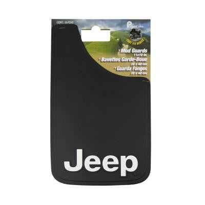 Jeep 11 in. x 19 in. Mudguard Set