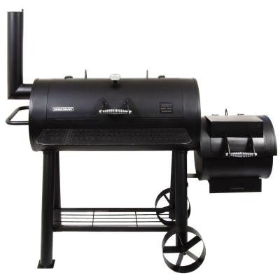 Trailmaster Limited Charcoal Smoker and Grill