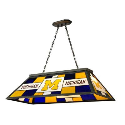 24 in. Tiffany University of Michigan Desk Lamp