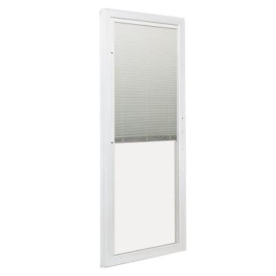 72 in. x 80 in. 200 Series 6 ft. Left-Hand Perma-Shield Operator Panel w/ Built-In Blinds for PS510 Gliding Patio Door