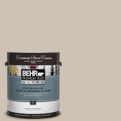 Home Decorators Collection 1-gal. #HDC-NT-13 Merino Wool Satin Enamel Exterior Paint