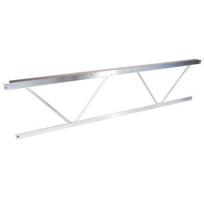 4 ft. Aluminum Dock Frame End Rail