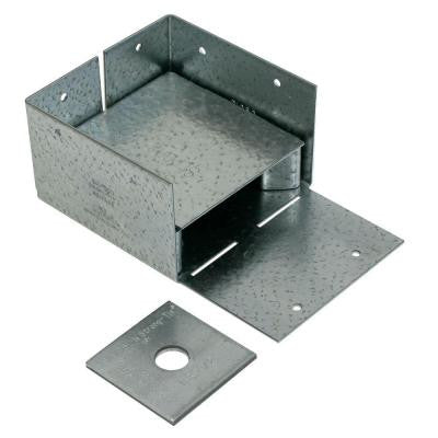 ZMAX 4 in. x 4 in. Galvanized Adjustable Post Base