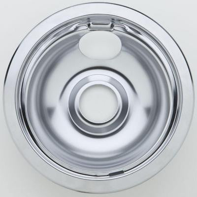 6 in. Chrome Drip Pan for Non-GE Ranges