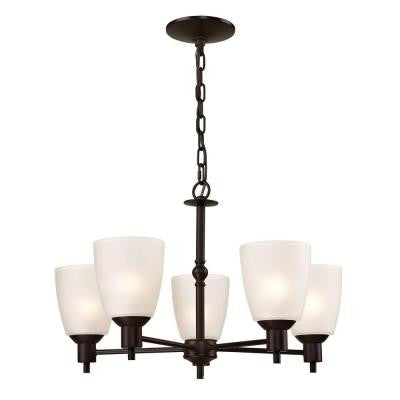 Jackson 5-Light Oil-Rubbed Bronze Chandelier
