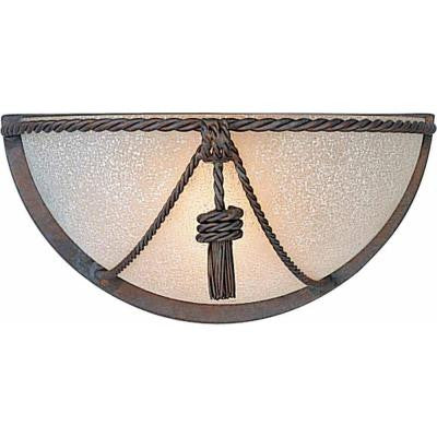 1-Light Prairie Rock Wall Sconce