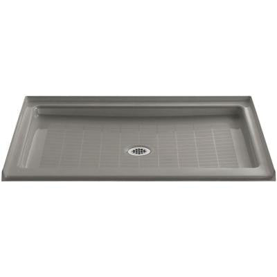 Purist 48 in. x 36 in. Single Threshold Shower Base in Cashmere
