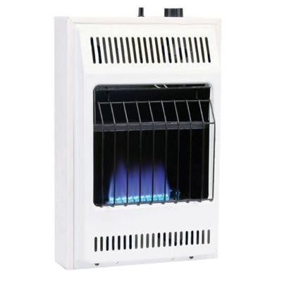 10,000 BTU/Hr Blue Flame Propane Gas Heater with Automatic Thermostat