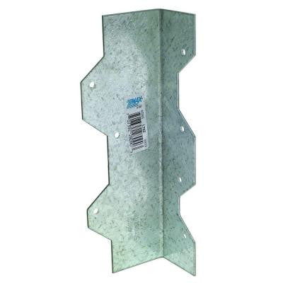 ZMAX 7 in. 16-Gauge Galvanized Reinforcing L-Angle
