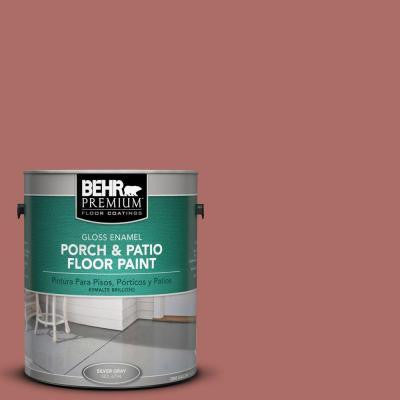 1-Gal. #PFC-01 New England Brick Gloss Porch and Patio Floor Paint