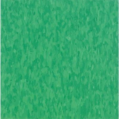 Imperial Texture VCT 12 in. x 12 in. Grabbin Green Commercial Vinyl Tile (45 sq. ft. / case)