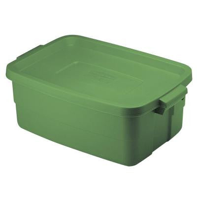 10 Gal. Roughneck Storage Tote in Green